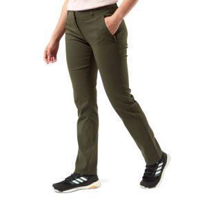 Craghoppers Women's Kiwi Pro II Trousers – Short, Khaki