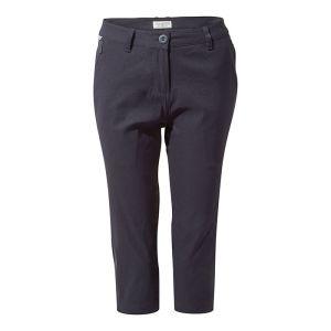 Craghoppers Women's Kiwi Pro II Crop Trousers – Dark Navy