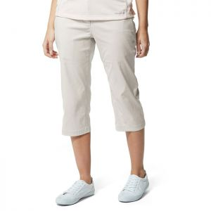 Craghoppers Women's Kiwi Pro II Crop Trousers – Dove Grey