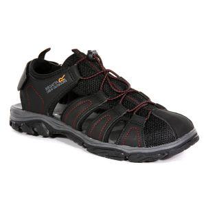 Regatta Men's Westshore II Sandals – Black Classic Red