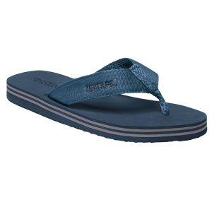 Regatta Men's Rico Flip Flop – Seal Grey Stellar Blue