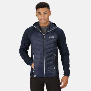 Regatta Men's V Hybrid Insulated Quilted Hooded Walking Jacket – Navy