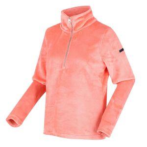 Regatta Women's Fidelia Lightweight Half-Zip Fleece - Fusion Coral
