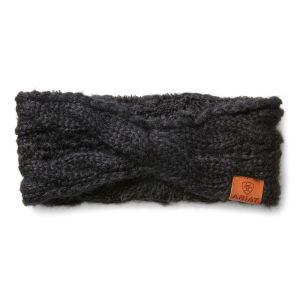 Ariat Women's Cable Headband – Black