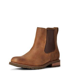 Ariat Women's Wexford Waterproof Boot – Weathered Brown