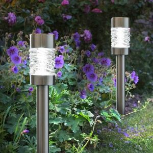 Smart Solar Martello Bollard - Stainless Steel