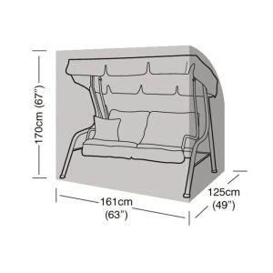 Garland 2 Seat Swing Set Cover - Black