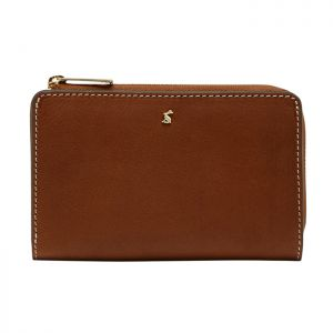 Joules Langton Medium Leather Purse – Medium Tan