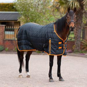Gallop Trojan 100 Standard Stable Rug - Black/Orange