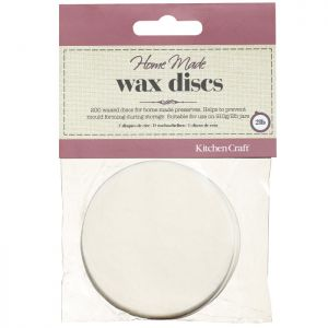 Home Made Waxed Discs for 2lb Preserve Jars - 200 Pack