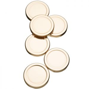 Home Made Spare Preserve 1lb Jar Lids - Pack of 6