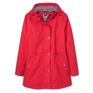 Joules Shoreside Waterproof Coat - Red