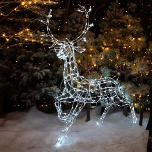 NOMA LED Wire Frame Stag Figure – 1.45m