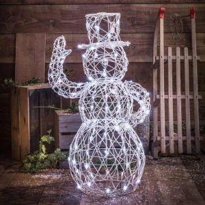 NOMA Snowman LED Light Figure - 1m