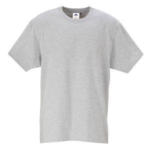 Portwest Turin Premium T-Shirt – Heather Grey