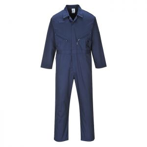 Portwest Liverpool Zip Coverall – Tall, Navy