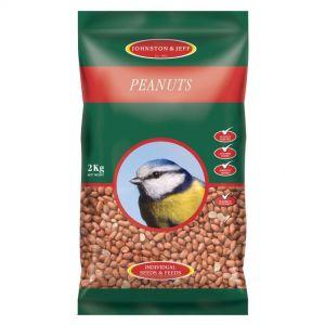 Johnston & Jeff Wild Bird Peanuts - 2kg