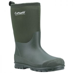 Cotswold Children's Hilly Wellingtons - Green