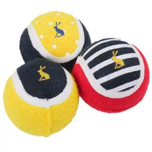 Doggy Joules Tennis Balls - Pack of 3