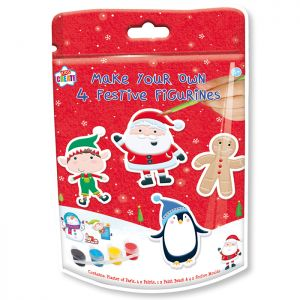Paint Your Own Christmas Figurines