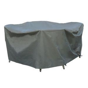 Bramblecrest Monterey & Tetbury 4 Seater Round Dining Set Protective Cover Set