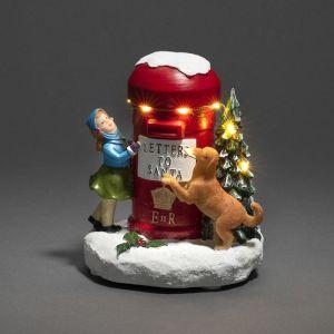 Konstsmide LED Post Box Letters To Santa Decoration