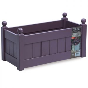 AFK Classic Wooden Trough, Lavender - 26in