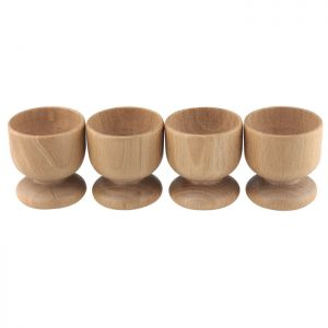 Apollo Beech Egg Cups - Set of 4