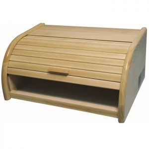 Apollo Beech Roll-Top Bread Bin