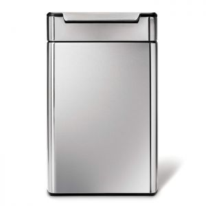 Simplehuman 48 Litre Touch Bar Recycler Bin - Stainless Steel