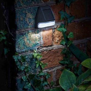 Smart Solar Fence, Wall and Post Light - 4 Pack