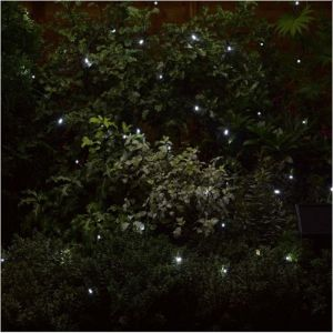 Smart Solar 50 LED String Lights - White
