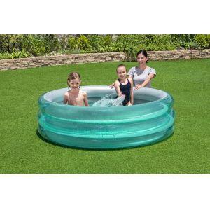 Bestway Big Metallic 3-Ring Pool