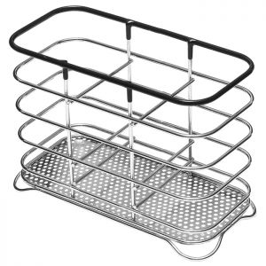 Addis Wire Cutlery Holder – Chrome Black