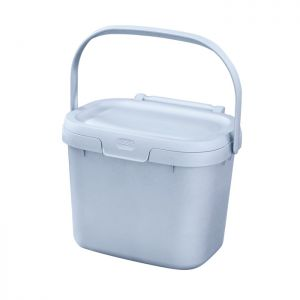 Addis Eco Kitchen Compost Caddy, 4.5 Litre – Light Grey