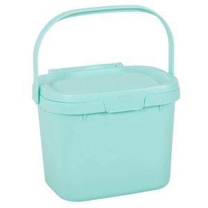 Addis Kitchen Compost Caddy, 4.5 Litre – Blue Haze