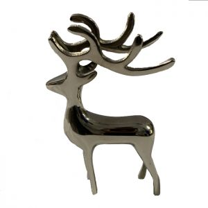 Deer Ornament - Nickel