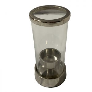 Tea Light Holder - Nickel