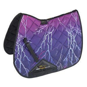 Shires Performance Sport XC Saddlecloth - Purple Lightning