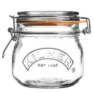 Kilner Round Clip Top Storage Jar - 0.5 Litres