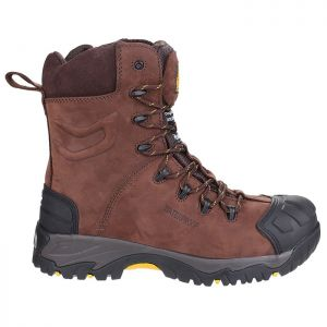 Amblers Men's AS995 Pillar Safety Boots – Brown