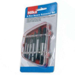 Hilka Screw Extractor Set - 6 Piece