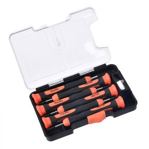 Tactix Precision Screwdriver Set - 6 Piece