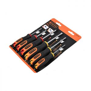 Tactix Phillips and Slotted Screwdriver Set - 6 Piece