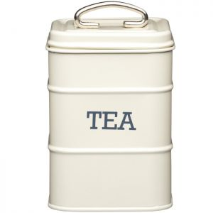 KitchenCraft 'Living Nostalgia' Tea Canister - Cream