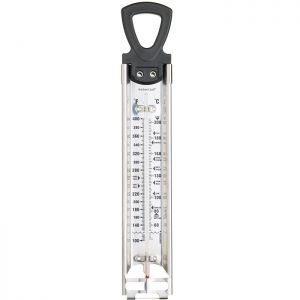 KitchenCraft Home Made Deluxe Stainless Steel Cooking Thermometer