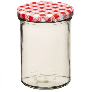 Home Made Preserving Jar with Screw Top Lid - 16oz