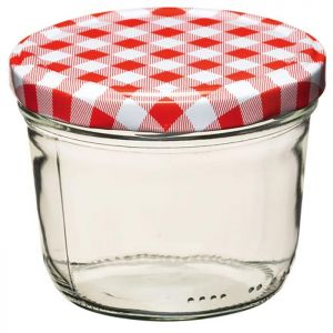 Home Made Preserving Jar with Screw Top Lid - 8oz