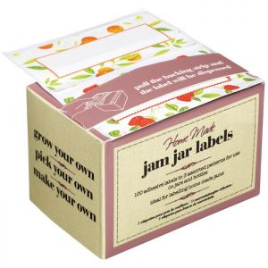 Home Made Assorted Self-Adhesive Jam Jar Labels - Pack of 100