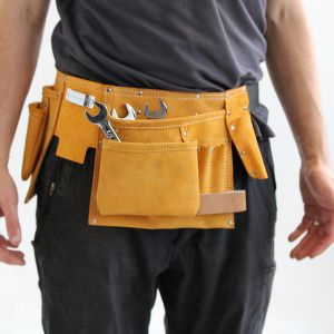 CSL Tools Suede Tool Pouch - 11 Pocket